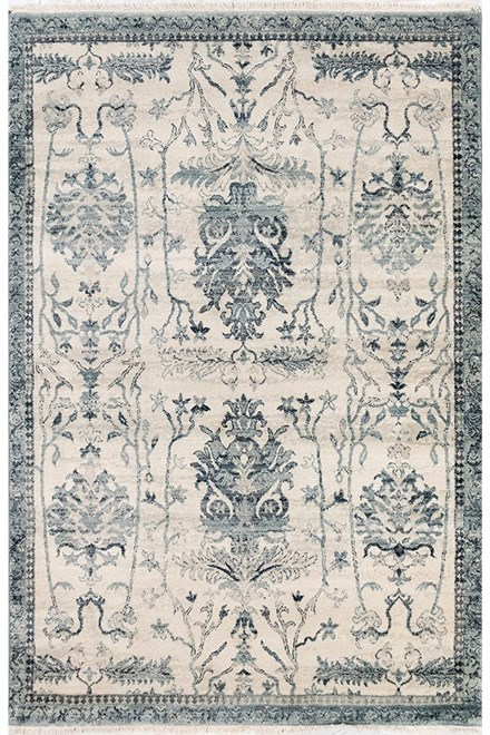 Ivory (6086-02) Traditional / Oriental Area Rug