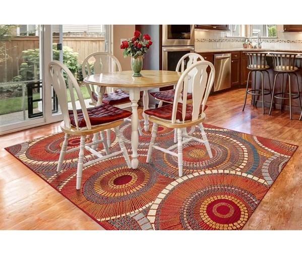 Saffron (8035-17) Outdoor / Indoor Area Rug