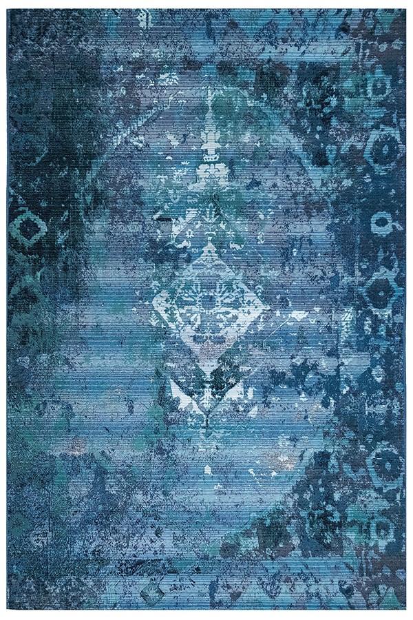 Blue (8043-03) Outdoor / Indoor Area Rug