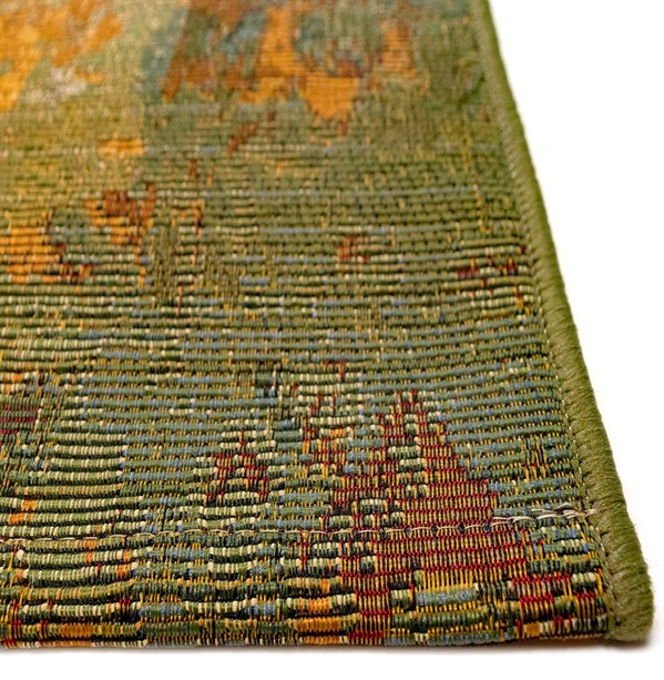 Green (8043-06) Outdoor / Indoor Area Rug