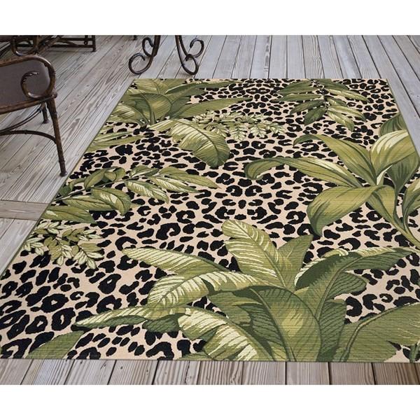 Green (8056-06) Outdoor / Indoor Area Rug