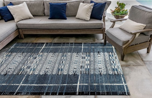 Denim (8057-33) Outdoor / Indoor Area Rug