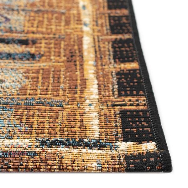 Gold (8057-09) Outdoor / Indoor Area Rug