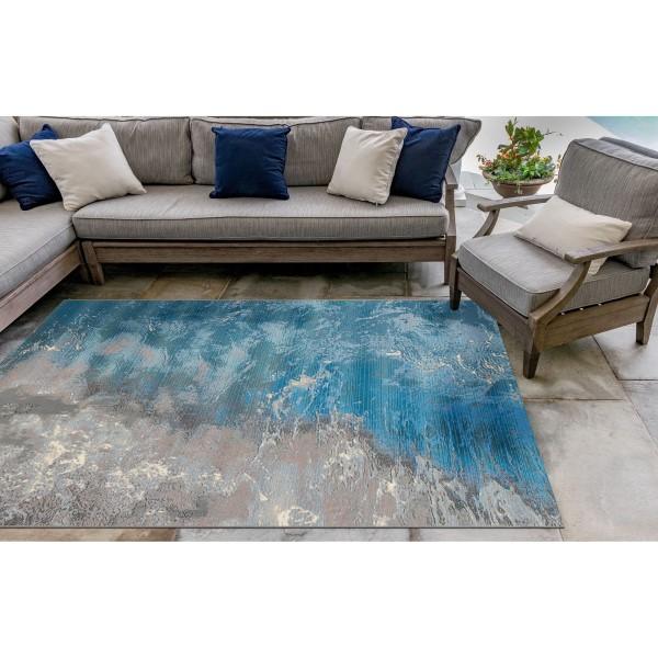 Ocean (04) Outdoor / Indoor Area Rug