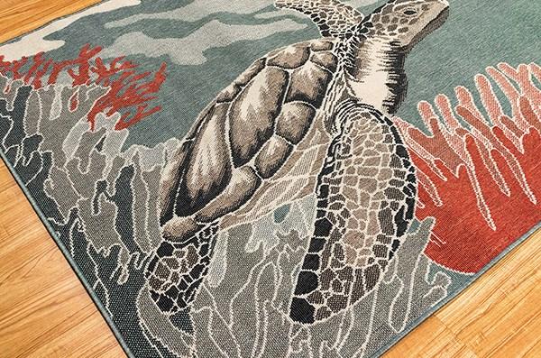 Ocean (7634-04) Outdoor / Indoor Area Rug