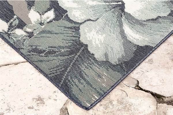 Navy (7649-33) Outdoor / Indoor Area Rug