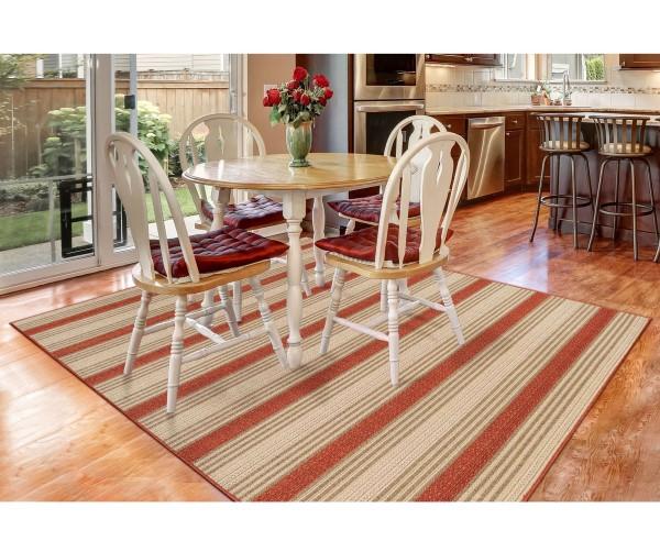 Red (7640-24) Outdoor / Indoor Area Rug