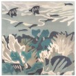 Product Image of Teal (7652-04) Outdoor / Indoor Area Rug