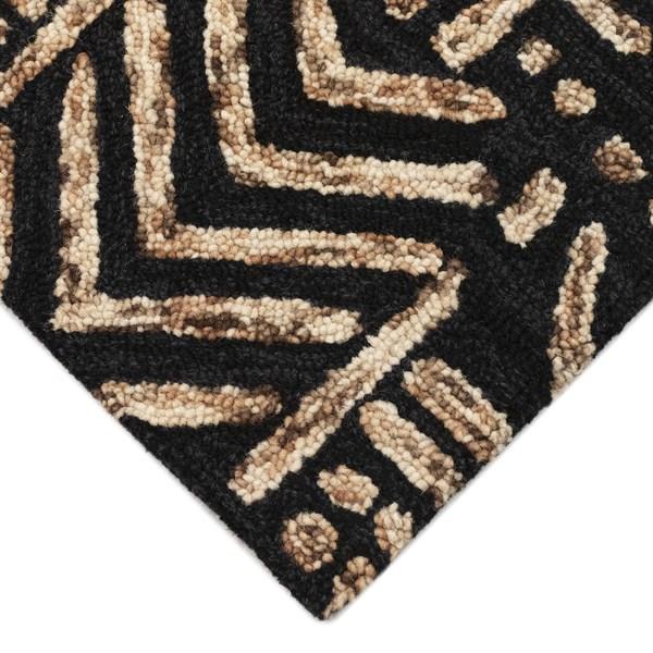 Brown, Tan (7880-19) Moroccan Area Rug