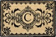 Product Image of Outdoor / Indoor Black, Natural (9004-48C) Area Rug
