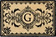 Product Image of Outdoor / Indoor Black, Natural (9004-48G) Area Rug