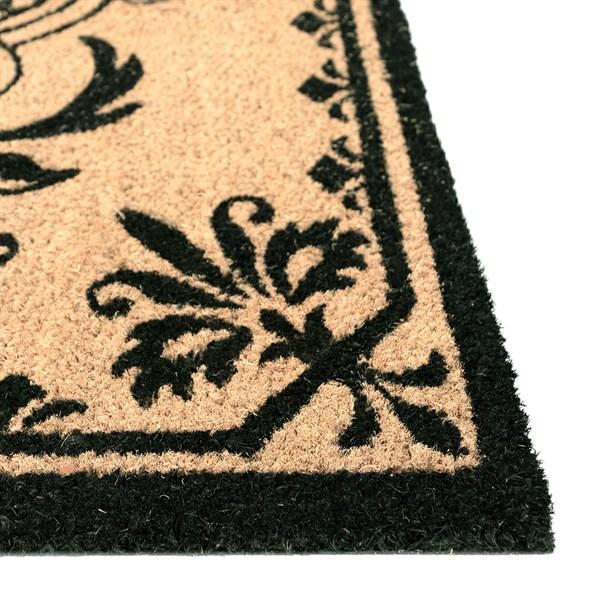 Black, Natural (9004-48H) Outdoor / Indoor Area Rug