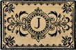 Product Image of Outdoor / Indoor Black, Natural (9004-48J) Area Rug