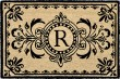 Product Image of Outdoor / Indoor Black, Natural (9004-48R) Area Rug