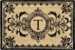 Product Image of Outdoor / Indoor Black, Natural (9004-48T) Area Rug