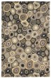 Product Image of Grey, Black (5894-47) Contemporary / Modern Area Rug