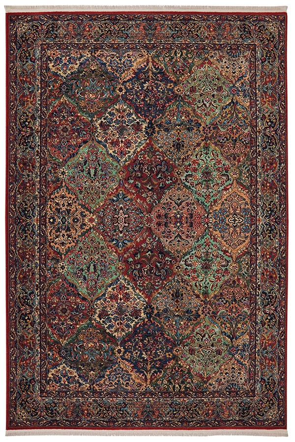 Red (717) Traditional / Oriental Area Rug