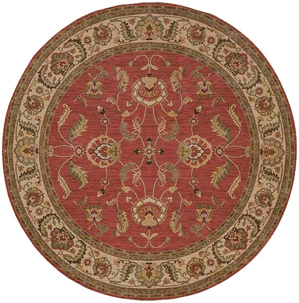 Red (15002) Traditional / Oriental Area Rug
