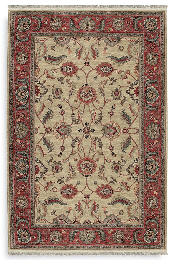 Ivory (15005) Traditional / Oriental Area Rug