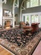 Product Image of Black (15006) Traditional / Oriental Area Rug
