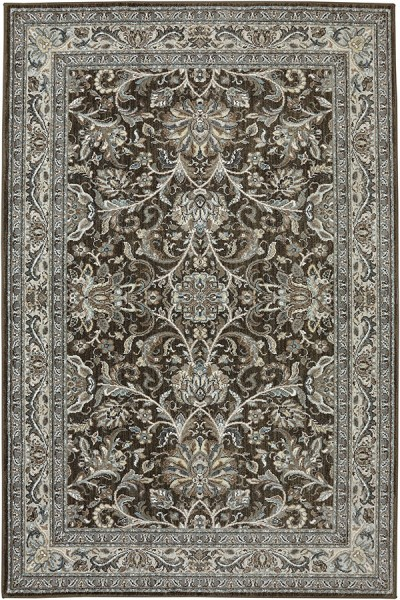 Brown (90262-80062) Traditional / Oriental Area Rug