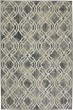 Product Image of Ash Grey, Slate, Cream (90274-5913) Moroccan Area Rug