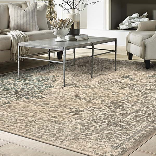 Natural (90643-70032) Vintage / Overdyed Area Rug