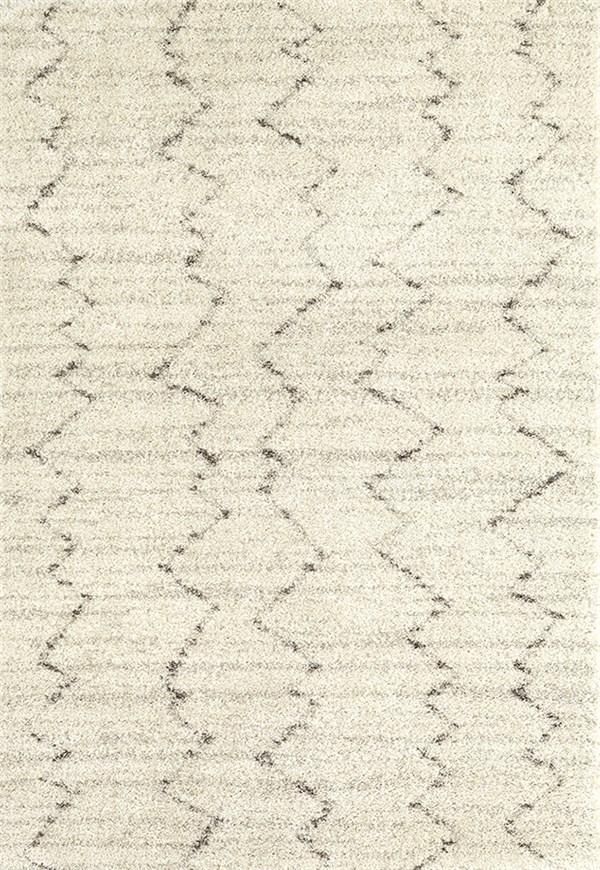 Ivory, Cream, Taupe (RG953-108) Shag Area Rug