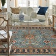 Product Image of Aquamarine, Red (90665-50123) Traditional / Oriental Area Rug