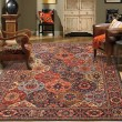 Product Image of Red, Blue (90669-90097) Moroccan Area Rug