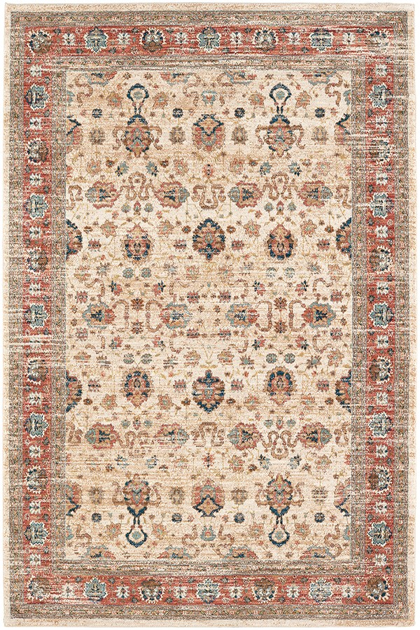 Cream (91199-70033) Vintage / Overdyed Area Rug
