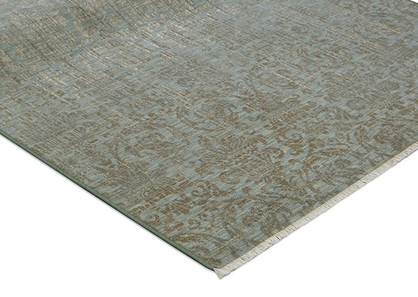 Seaglass, Ivory, Tan (16008) Vintage / Overdyed Area Rug