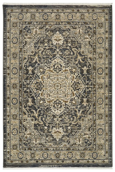 Charcoal (16002) Traditional / Oriental Area Rug