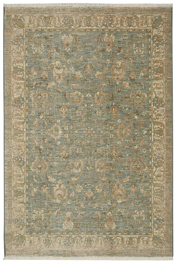 Seaglass, Ivory, Tan (16011) Traditional / Oriental Area Rug