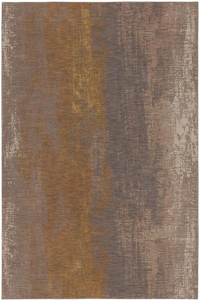Smokey Grey, Desert, Brushed Gold (90965-20047) Transitional Area Rug