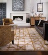 Product Image of Brushed Gold (90969-00918) Contemporary / Modern Area Rug