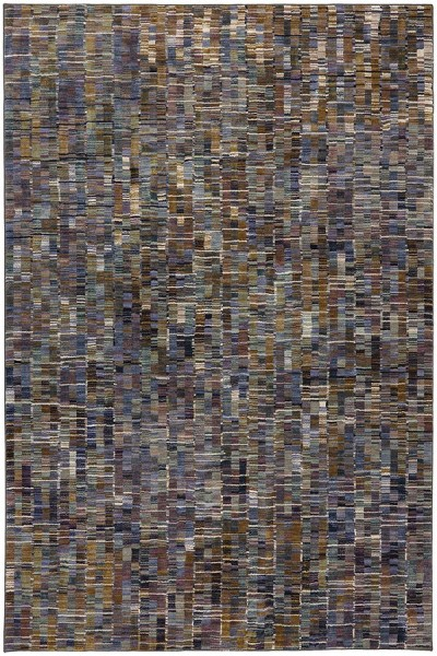 Brown (90971-60129) Contemporary / Modern Area Rug