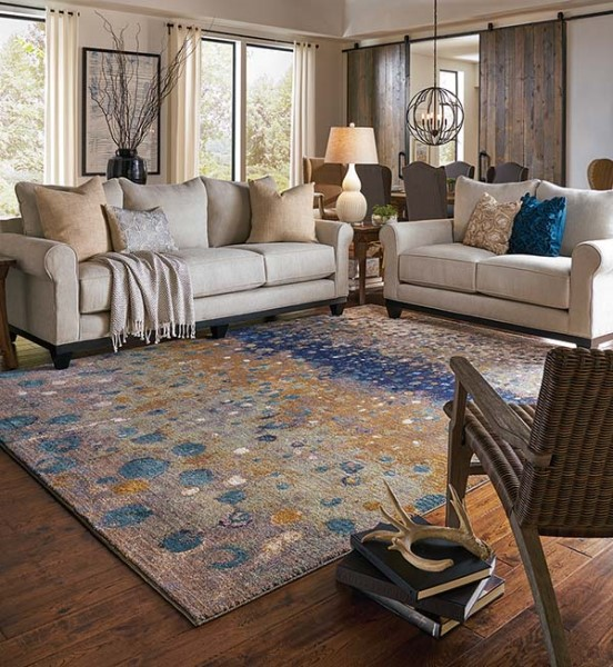 Desert (90970-20047) Contemporary / Modern Area Rug