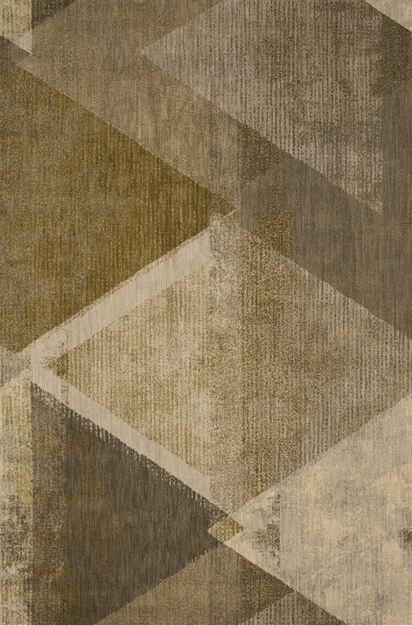 Brown, Beige, Ivory (70042) Transitional Area Rug