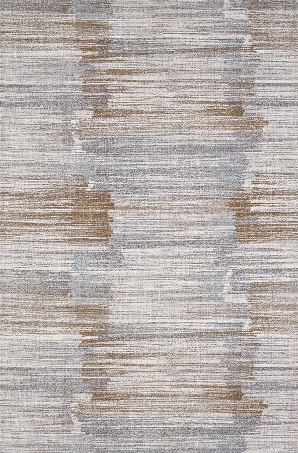 Brown, Grey, Ivory (70042) Contemporary / Modern Area Rug