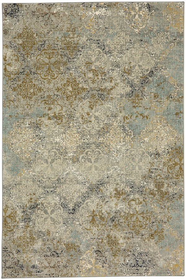 Willow Gray (90945-90075) Vintage / Overdyed Area Rug