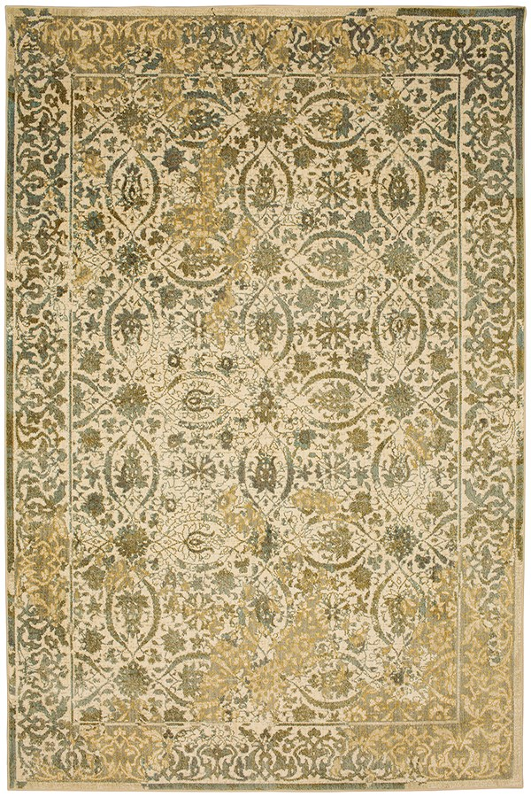 Willow Grey (91513-90075) Traditional / Oriental Area Rug