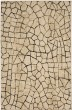 Product Image of Contemporary / Modern Ivory, Charcoal (39478-22009) Area Rug
