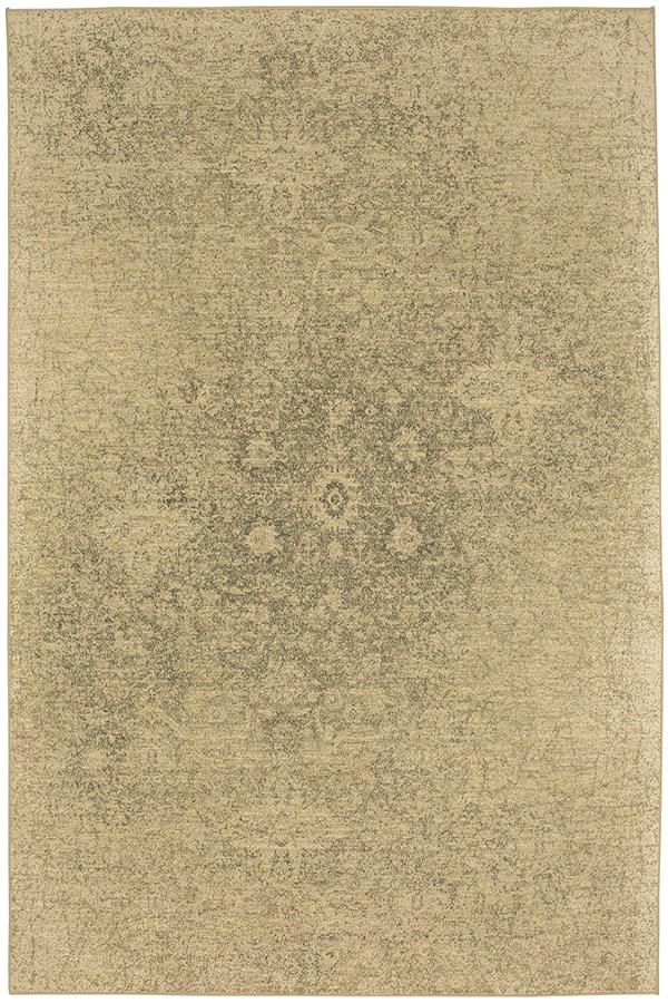 Sandstone, Charcoal (39478-22015) Vintage / Overdyed Area Rug