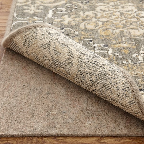 Silver (00532-10005) Damask Area Rug