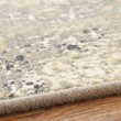 Product Image of Silver (00532-10005) Damask Area Rug