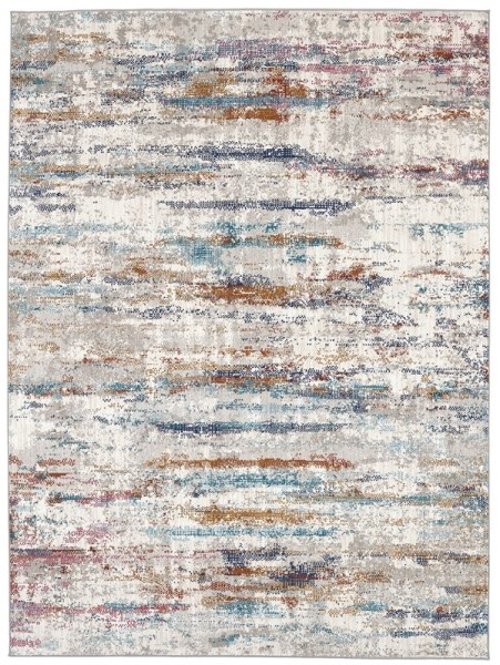 Oyster, Grey, Curry (25016) Abstract Area Rug