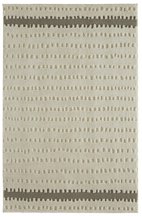 Cream, Linen, Light Grey Shag Area Rug