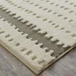 Product Image of Cream, Linen, Light Grey Shag Area Rug