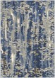 Product Image of Contemporary / Modern Blue, Grey, Beige (Cobalt) Area Rug